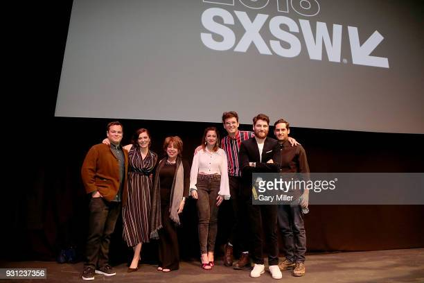 Dan Gregor Rachel Bloom Bonnie Rose Petra Ahmann John Reynolds Adam Pally and Doug Mand attend the world premiere of Most Likely To Murder at the...