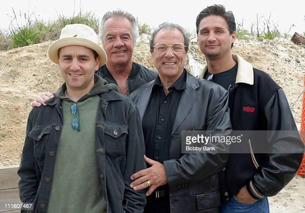 Dan Grimaldi Jeff Marchetti Tony Sirico and Max Casella