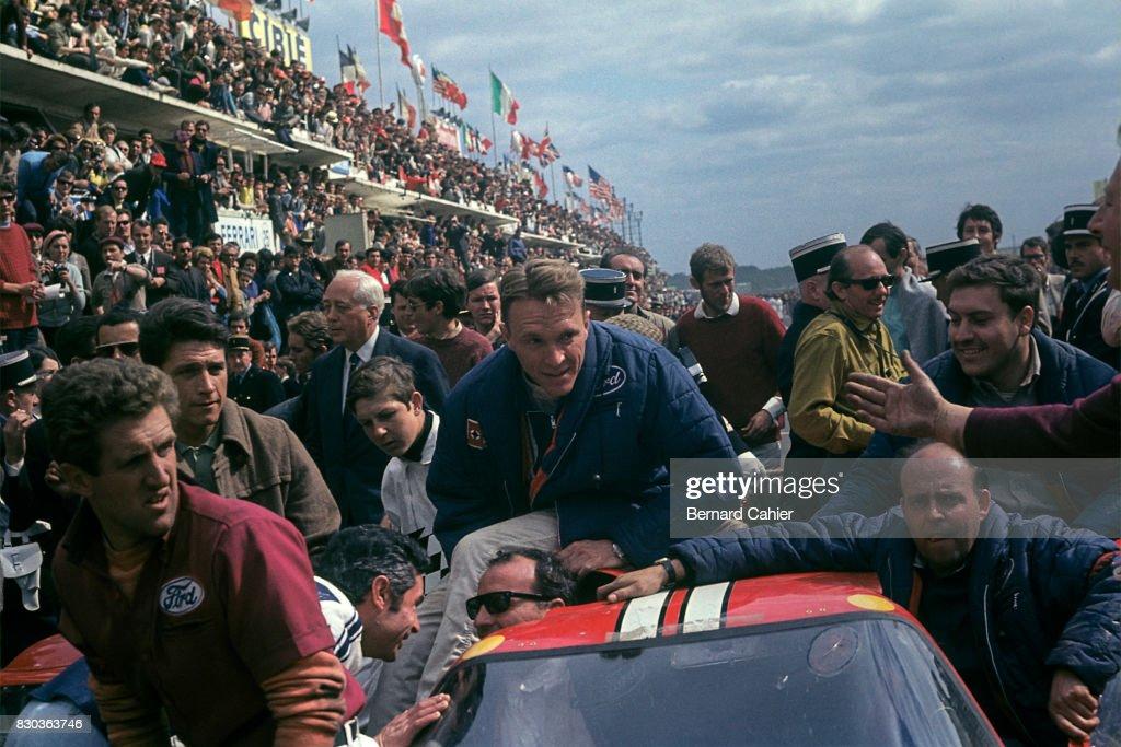Dan Gurney, A.J. Foyt, 24 Hours Of Le Mans : Foto di attualità