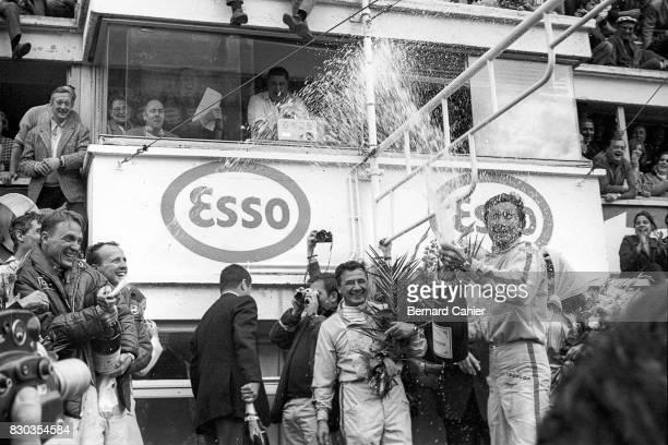 Dan Gurney A J Foyt Hans Herrmann Jo Siffert 24 Hours of Le Mans Le Mans 11 June 1967