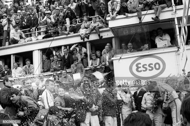 Dan Gurney A J Foyt Jo Siffert Rainer Schlegelmilch 24 Hours of Le Mans Le Mans 11 June 1967