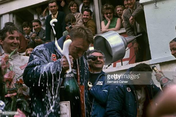 Dan Gurney, A J Foyt, Mike Parkes, 24 Hours of Le Mans, Le Mans, 11 June 1967.