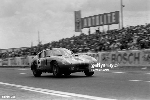 Dan Gurney Bob Bondurant Shelby Cobra Daytona Coupe 24 Hours of Le Mans Le Mans 22 June 1964