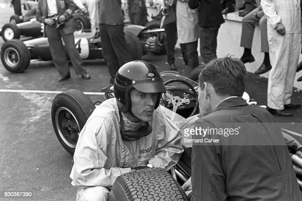 Dan Gurney Brabham BT7 Grand Prix of France RouenLesEssarts 28 June 1964
