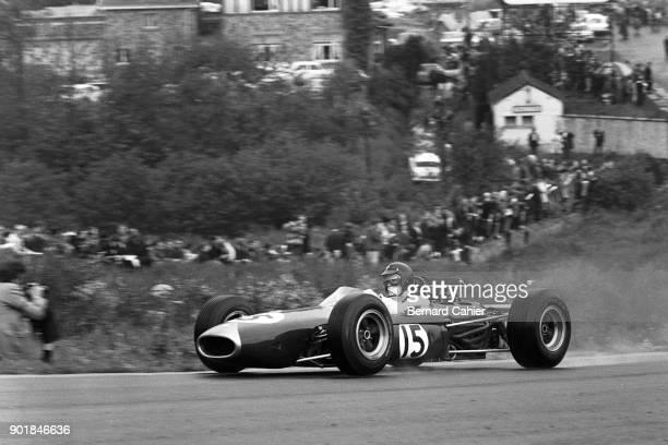 Dan Gurney BrabhamClimax BT11 Grand Prix of Belgium Circuit de SpaFrancorchamps 13 June 1965