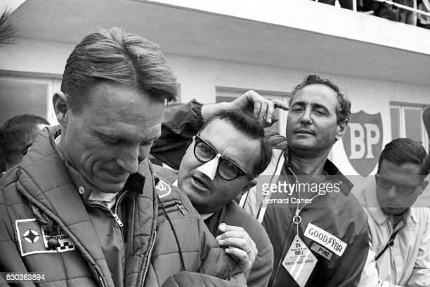 Dan Gurney Chris Economaki 24 Hours of Le Mans Le Mans 11 June 1967