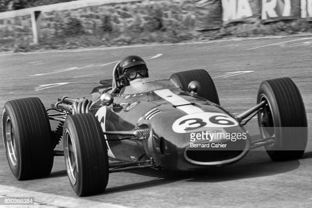 Dan Gurney, Eagle-Weslake T1G, Grand Prix of Belgium, Spa Francorchamps, 18 June 1967.
