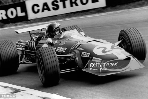 Dan Gurney EagleWeslake T1G Grand Prix of Great Britain Silverstone 20 July 1968