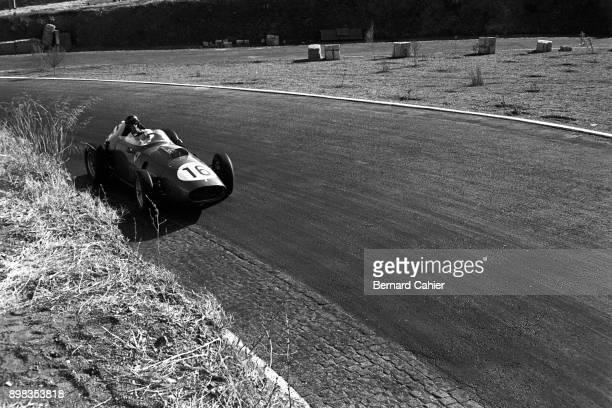 Dan Gurney Ferrari 246 OR Ferrari 156 Grand Prix of Portugal Circuito de Monsanto 23 August 1959