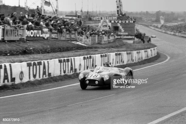 Dan Gurney Ferrari 250 Testa Rossa 24 Hours of Le Mans Le Mans 22 June 1958