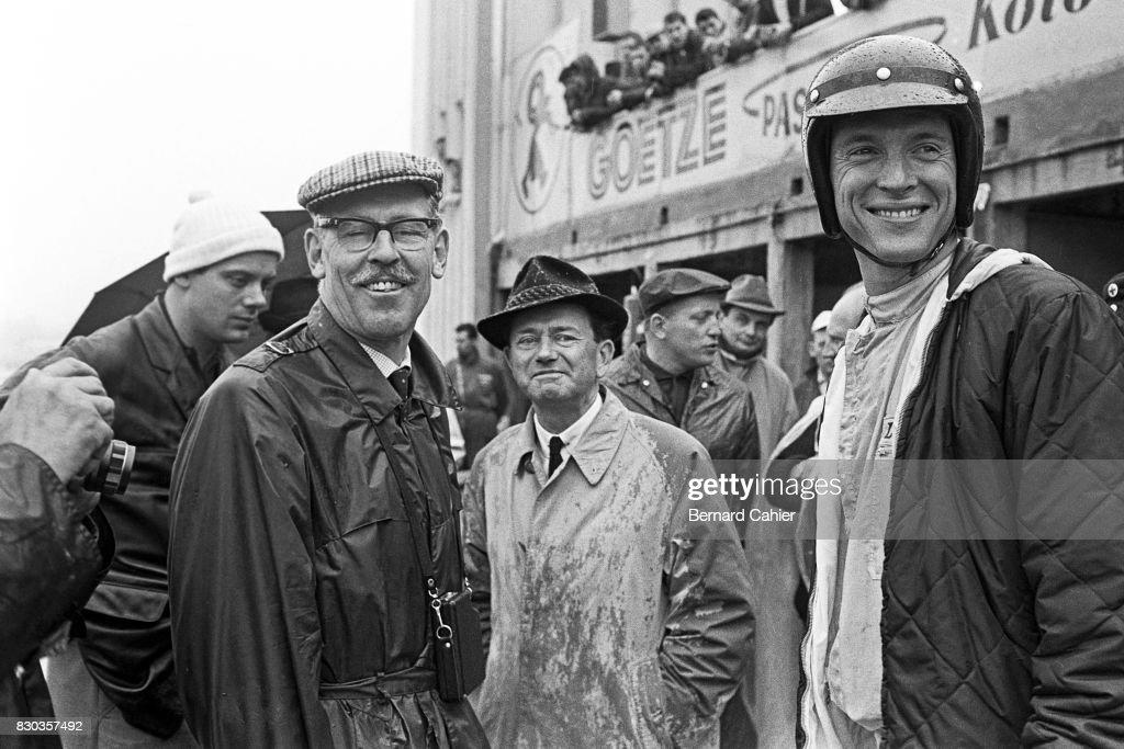 Dan Gurney, Ferry Porsche, Huschke von Hanstein, Grand Prix Of ... on susanne porsche, erwin komenda, ferdinand oliver porsche, ferdinand alexander porsche, porsche family, zell am see, franz josef popp, ferdinand porsche, siegfried marcus,