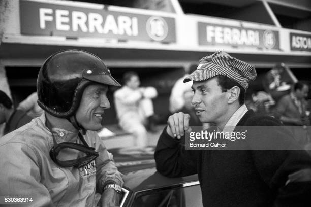 Dan Gurney Jim Clark 24 Hours of Le Mans Le Mans 24 June 1962