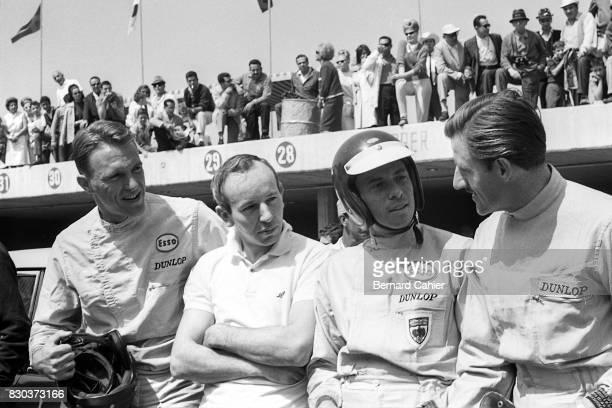 Dan Gurney John Surtees Jim Clark Graham Hill Grand Prix of Mexico Autodromo Hermanos Rodriguez 25 October 1964