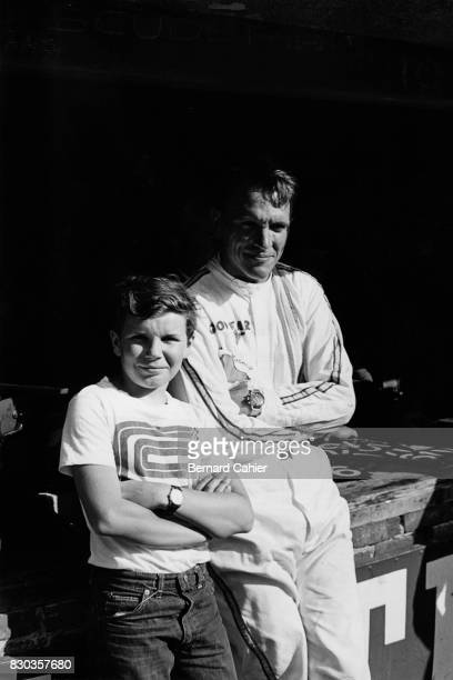 Dan Gurney PaulHenri Cahier Grand Prix of Italy Monza 12 September 1965