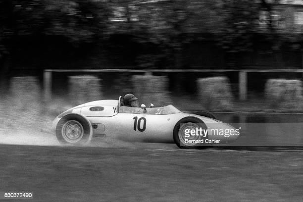 Dan Gurney Porsche 718 Grand Prix of Great Britain Aintree 15 July 1961
