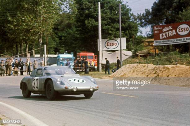 Dan Gurney Porsche 718 RS61 24 Hours of Le Mans Le Mans 11 June 1961