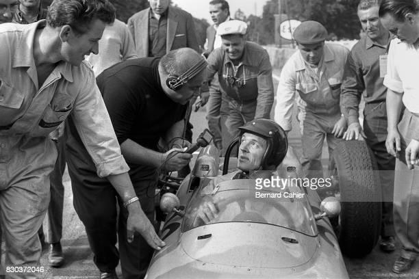 Dan Gurney, Porsche 804, Grand Prix of France, Rouen-Les-Essarts, 08 July 1962.