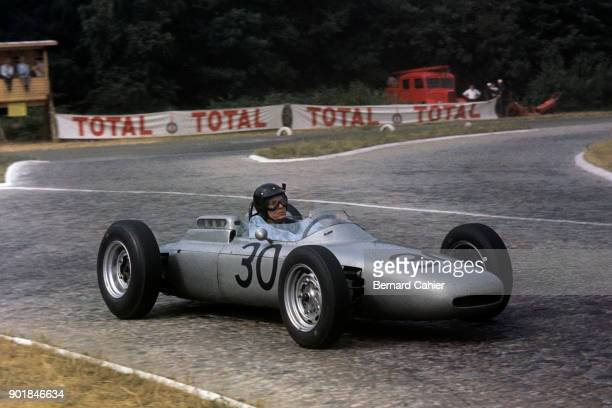 Dan Gurney Porsche 804 Grand Prix of France RouenLesEssarts 08 July 1962 Dan Gurney on the way to his first ever victory in Formula One in the 1962...