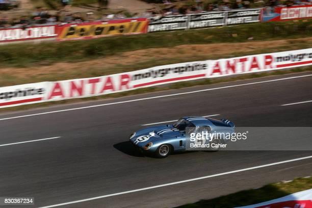 Dan Gurney Shelby Cobra Daytona Coupe 24 Hours of Le Mans Le Mans 22 June 1964