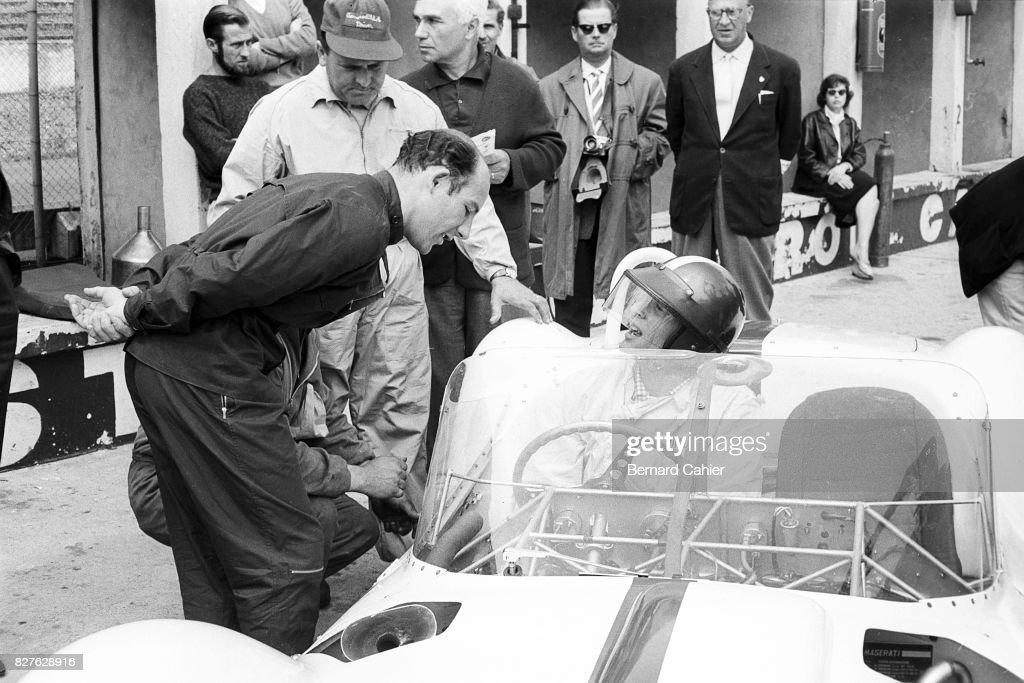 Dan Gurney, Stirling Moss, 1000 Km Of Of Nurburgring : Foto di attualità