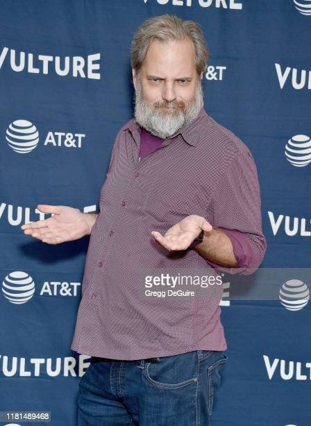 Dan Harmon arrives at the Vulture Festival Los Angeles 2019 Day 2 at Hollywood Roosevelt Hotel on November 10, 2019 in Hollywood, California.
