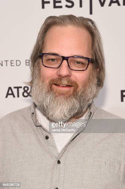 """Dan Harmon attends the screening of """"7 Stages to Achieve Eternal Bliss By Passing Through The Gateway Chosen By the Holy Storsh"""" during the Tribeca..."""