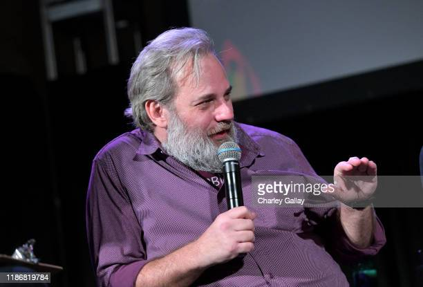 Dan Harmon speaks onstage at Vulture Festival Presented By AT&T at The Roosevelt Hotel on November 10, 2019 in Hollywood, California.