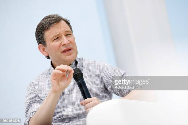 Dan Harris speaks onstage during the Havas NY session at the Cannes Lions Festival 2018 on June 21 2018 in Cannes France