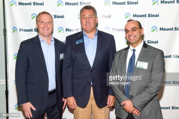 Dan Harvey Senator Steve Gooch and Dr Ayman Fareed attend 'Mount Sinai Wellness Center VIP Event' at Mount Sinai Wellness Center on September 10 2017...