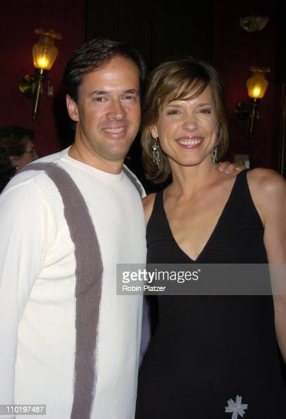 Dan Hicks and wife Hannah Storm during King Arthur World Premiere Inside Arrivals at The Ziegfeld Theatre in New York City New York United States