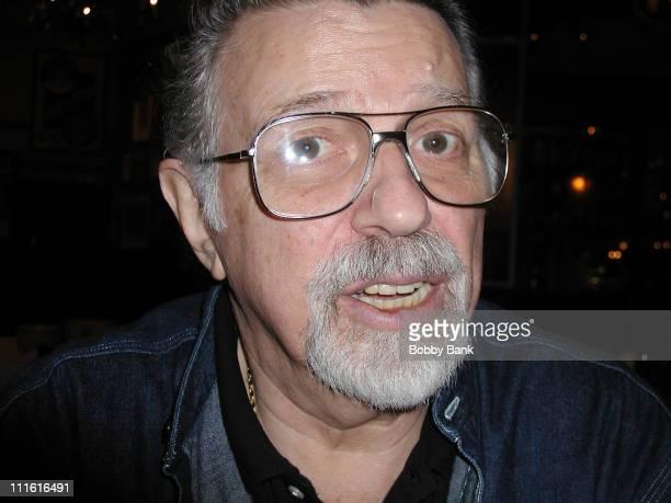 Dan Ingram during Dan Ingram Legendary DJ Sighting at Carmines Restaurant in New York City New York United States