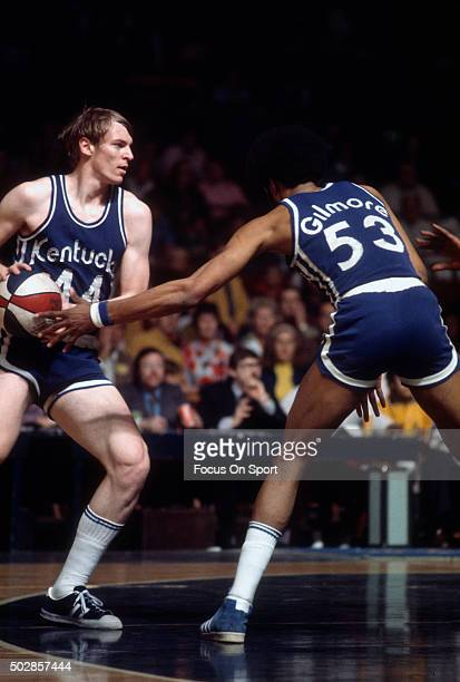 Dan Issel of the Kentucky Colonels in action during an ABA basketball game circa 1970 Issel played for the Colonels from 197075