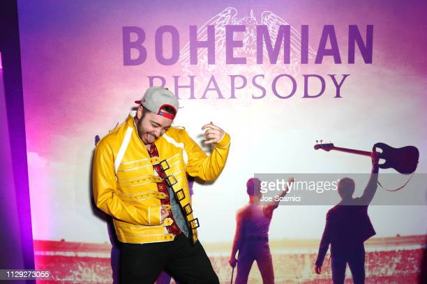 Dan James Rodo attends Bohemian Rhapsody's Get Loud Extravaganza at Whiskey a Go Go on February 12 2019 in Los Angeles California