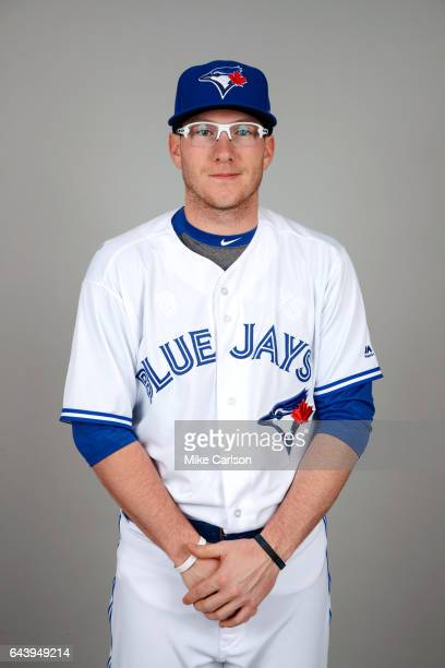 Dan Jansen of the Toronto Blue Jays poses during Photo Day on Tuesday February 21 2017 at Florida Auto Exchange Stadium in Dunedin Florida