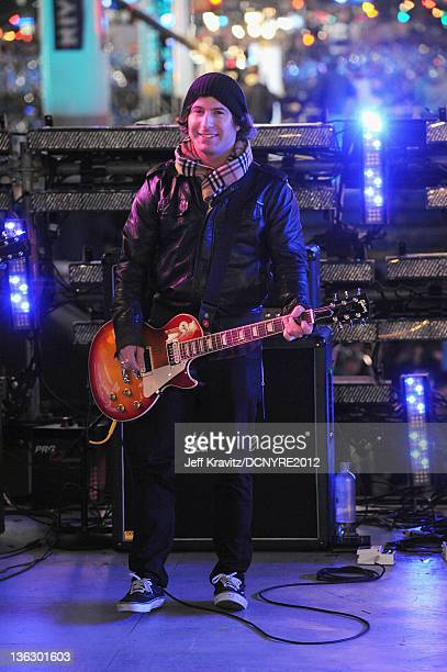 Dan Kanter performs during Dick Clark's New Year's Rockin' Eve with Ryan Seacrest 2012 at Times Square on December 31 2011 in New York City