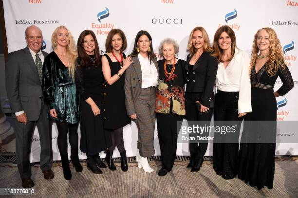 Dan Kelly Chandra Jessee Sue Smalley Paula Ravets Margaret Atwood Yasmeen Hassan Angelica Fuentes Lara Stein and Simone Lahorgue attend the annual...