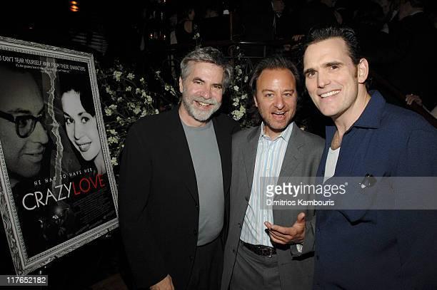 Dan Klores codirector Fisher Stevens codirector and Matt Dillon