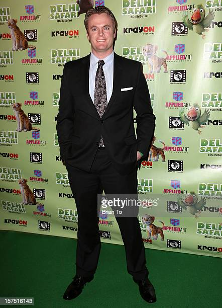 Dan Kramer attends 'Delhi Safari' Los Angeles premiere at Pacific Theatre at The Grove on December 3 2012 in Los Angeles California