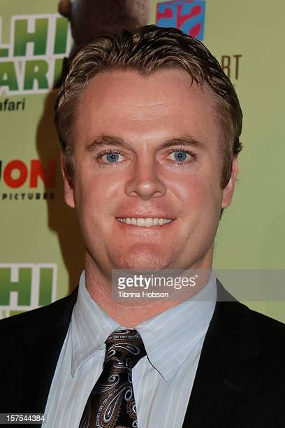 Dan Kramer attends the Delhi Safari Los Angeles premiere at Pacific Theatre at The Grove on December 3 2012 in Los Angeles California