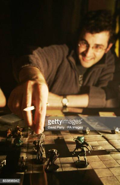 Dan Lay from Camberley during the Worldwide Dungeons and Dragons Game Day event at the London Dungeon in south London