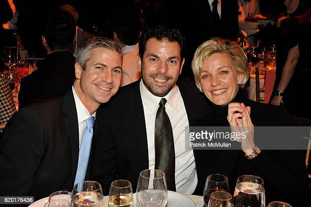 Dan LeBono, Chuck Seculla and Kelly O'Donnell attend THE 2008 EMERY AWARDS Benefiting the HETRICK-MARTIN Institute at Cipriani 42nd Street on...