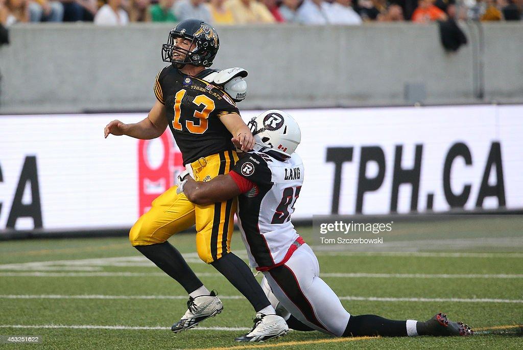 Ottawa Redblacks  v Hamilton Tiger-Cats