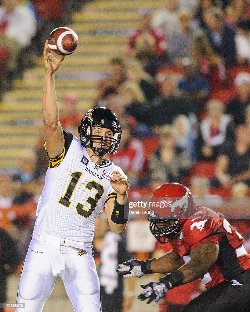 Hamilton Tiger-Cats  v Calgary Stampeders