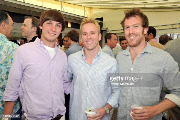 Dan Lefkowitz Brad Goetz and Blake Sedberry attend MIRACLE HOUSE 20th Anniversary Memorial Day Summer Kickoff Benefit honoring Amy Chanos and Jim...