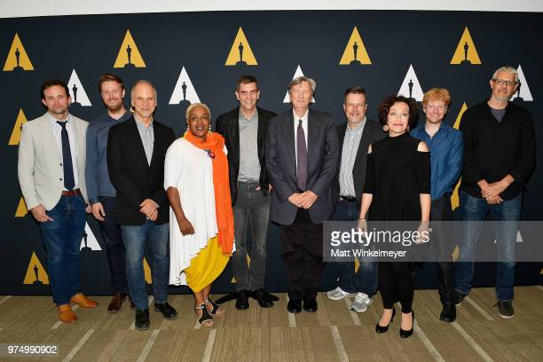 Dan Lemmon Richard Clegg John Nelson CCH Pounder Doug Roble President of the Academy of Motion Picture Arts and Sciences John Bailey John Knoll Karin...