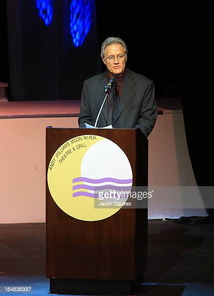 Dan Lennon attends a memorial service for entertainer Andy Williams on October 21 2012 in Branson Missouri Williams died on September 25 2012 at the...