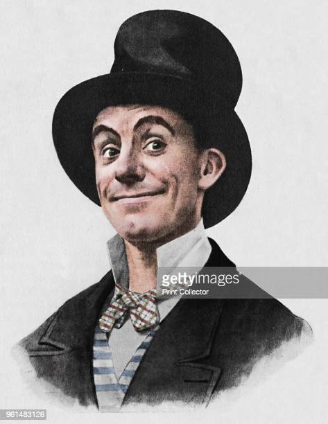 Dan Leno' 1942 From Fairs Circuses and Music Halls by M Wilson Disher [Collins London 1942] Artist Unknown