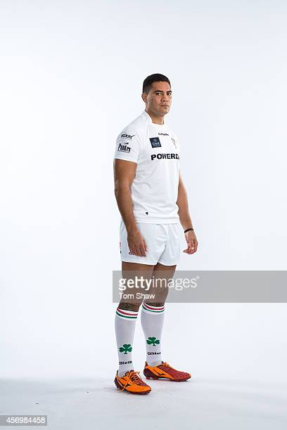 Dan Leo of London Irish poses for a picture during the BT PhotoShoot at Sunbury Training Ground on August 27 2014 in Sunbury England