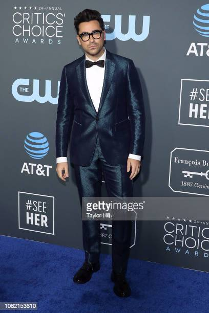 Dan Levy attends The 24th Annual Critics' Choice Awards at Barker Hangar on January 13 2019 in Santa Monica California