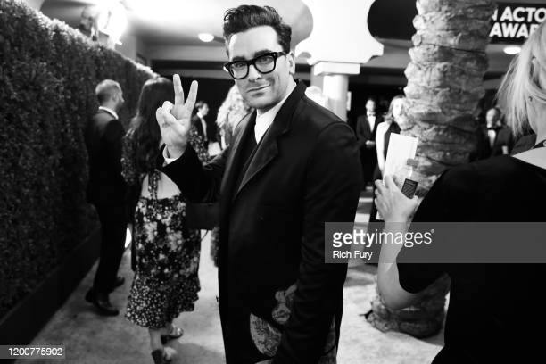 Dan Levy attends the 26th Annual Screen Actors Guild Awards at The Shrine Auditorium on January 19 2020 in Los Angeles California